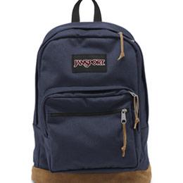 經典皮革底 校園背包