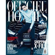L'OFFICIEL HOMMES KOREA 2月號2015 月刊