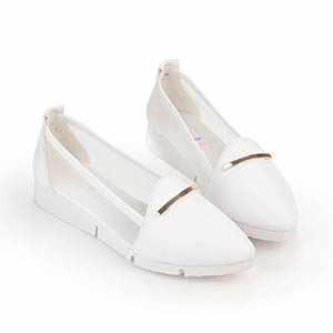 透膚休閒厚底鞋