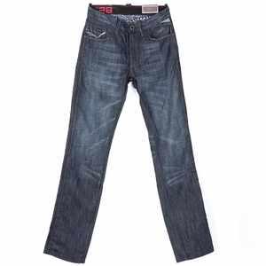 低腰標準版型刷色牛仔褲