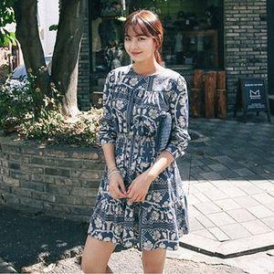 圖騰連身裙