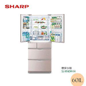 601L 日本原裝六門環保左右開冰箱
