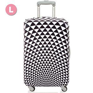 稜鏡圖案時尚行李箱套