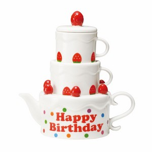 壺&對杯組 │ 生日蛋糕