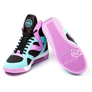 注目炫彩高筒籃球鞋