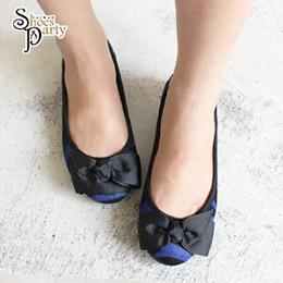 日本enchanted真馬毛蝴蝶結芭蕾舞鞋