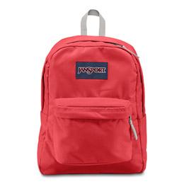 Jansport校園背包 紅