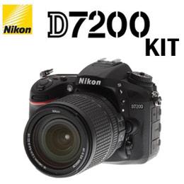 Nikon D7200 KIT公司貨 中階單眼相機