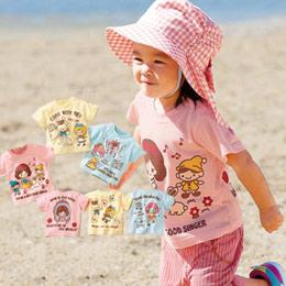 [日本空運]100%純棉可愛公主T恤-3件組