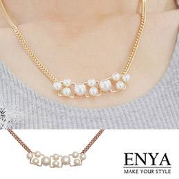 自然質感珍珠項鍊