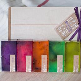 舞彩手工皂禮盒