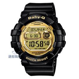 CASIO Baby-G運動防撞裝置 鏡面錶盤