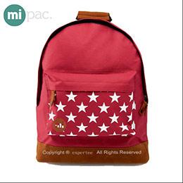 【mi pac】英國時尚 星星款後背包