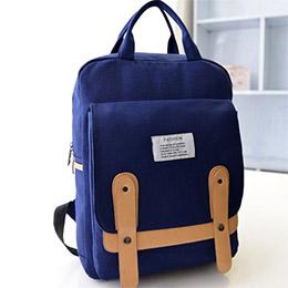 韓版學院休閒簡約後背包