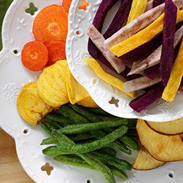 五款人氣蔬果脆片