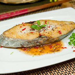 鯖魚片 土魠魚片 鱈魚切片 熟白蝦