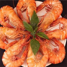 霸王級熟草蝦 約65隻/盒