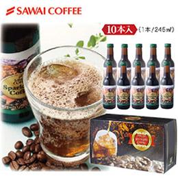 5折!澤井碳酸咖啡10瓶($52.5/瓶)