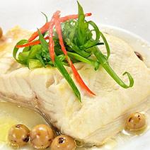 鮮凍鱘龍魚清肉排+鱘龍魚骨
