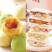 [旺來甜蜜禮盒]鳳梨球+變心牛軋糖