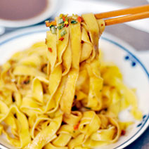 竹山番薯乾麵X百年芝麻醬