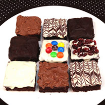 巧克力布朗尼 綜合口味X12塊