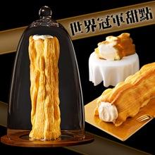 世界冠軍蛋糕師傅-陳立喆新作:融心泡芙神木捲