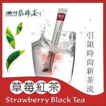 《歐可袋棒茶》草莓紅茶(15支/盒)