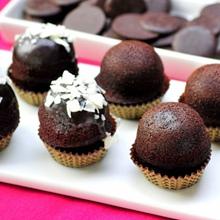 雙口感:脆皮布朗尼+ 巧克力布朗尼