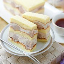 真芋頭蛋糕+4入芋頭炸彈