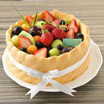 【夏洛特水果蛋糕6吋】