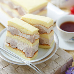 真芋頭蛋糕+阿薩姆布丁蛋糕<br>2010 傳統組 冠軍