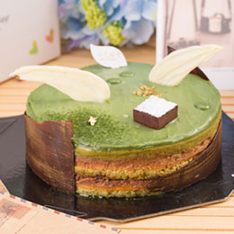 茶之翼 抹茶葡萄柚6吋蛋糕<br>台北巷弄人氣名店
