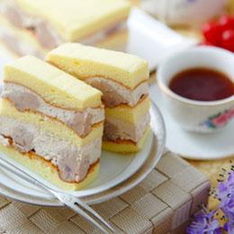 真芋頭蛋糕+阿薩姆布丁蛋糕<br>買就送:德式布丁
