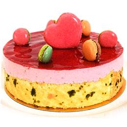 莓果浪漫花園6吋<br>買就送:地瓜馬卡龍