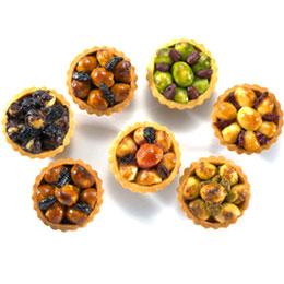 精緻綜合豆塔12入<br>買就送:蔓越莓豆塔