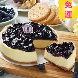 純手工熬煮❤6吋藍莓重乳酪蛋糕