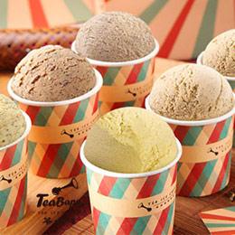 【茶吧噗】經典茶葉冰淇淋6入
