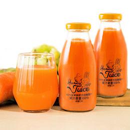 100%綜合蜂蜜胡蘿蔔汁6入