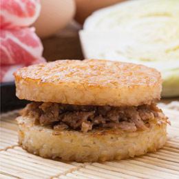 【小資組】人氣米漢堡6入組