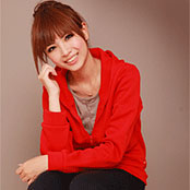 【Miu'S】素面紅標刷毛連帽外套