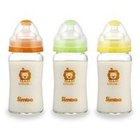 小獅王辛巴 超輕鑽寬口雙凹玻璃大奶瓶