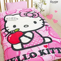 市場最殺!Hello Kitty 全新款超保暖毯被!!