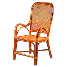 台灣關廟教師藤椅