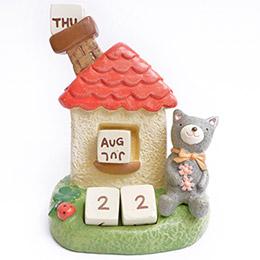 動物派對森林小屋月曆