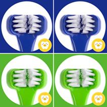兒童專用三面式牙刷Dr. Barman's Superbrush《藍綠寶貝4入組》