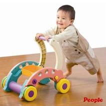 寶貝折疊式簡易學步車