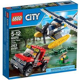 樂高積木LEGO城市系列 - 水上飛機追擊