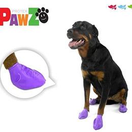 美國PAWZ天然橡膠鞋套組-1雙4隻(可重複)