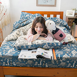 Wonderland 單人床包+被套三件組
